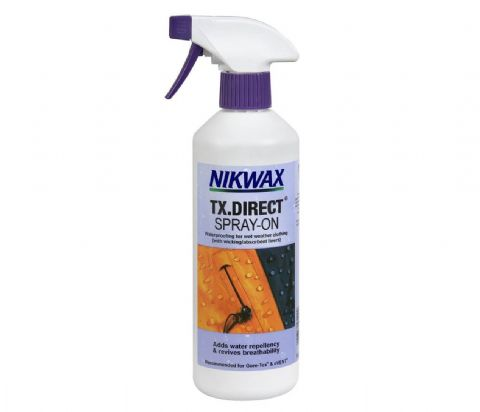 Nikwax TX.Direct Spray On - Waterproofing for Outdoor Clothing - 500ml